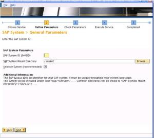 bw11 - SAP Inst General Parameters