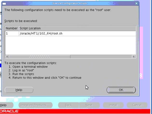 ECC6EHP4_ECC6EHP4_Orainstaller Patch Installer Screen 3