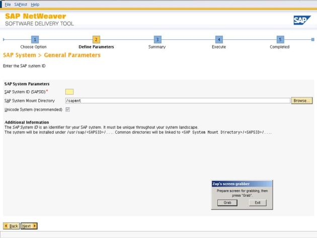 ECC6EHP4_ECC6EHP4_Software delivery tool screen 4