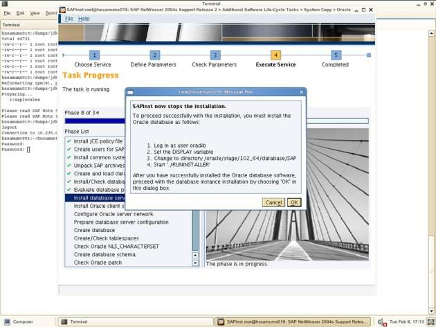 NW 7.0 - System Copy Export 2 - Oracle Installation